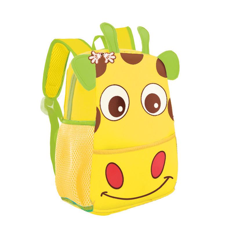 EASY - Batoh neoprenový - dětský žirafa žlutá