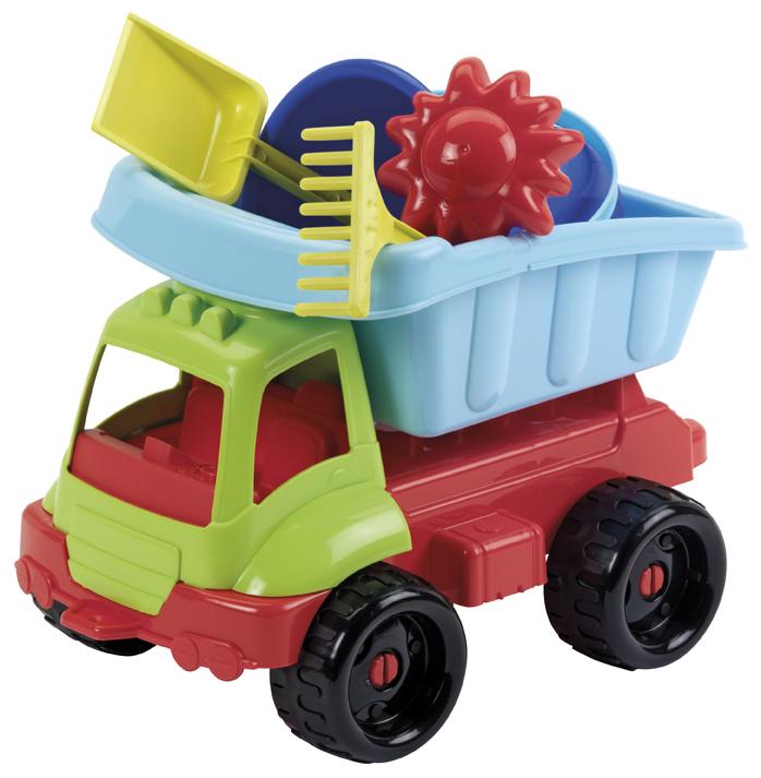 ECOIFFIER - Nákladní autíčko s formičkami 34 cm