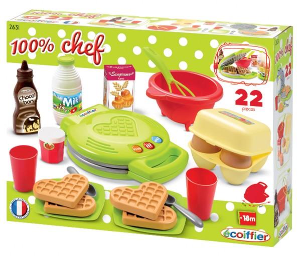 ECOIFFIER - Vaflovač 100% Chef s příslušenstvím 2631