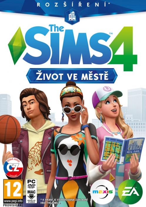 ELECTRONIC ARTS - PC The Sims 4 - Život ve městě