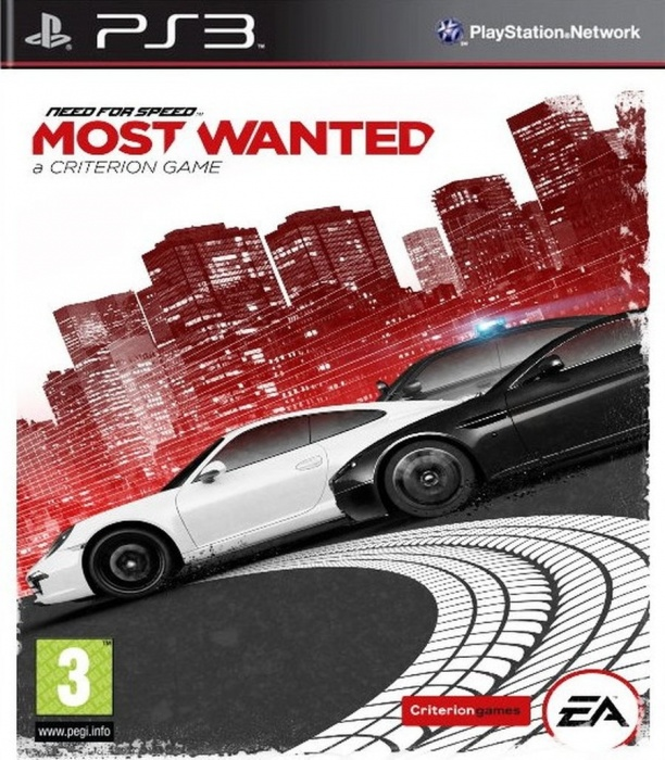 ELECTRONIC ARTS - PS3 Need for Speed Most Wanted (2012) Essentials