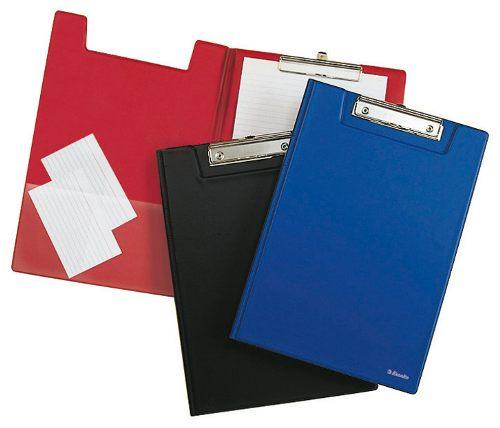 ESSELTE - Desky na spisy A4 zavírací, modrá