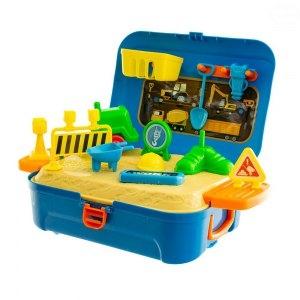 EURO BABY - Silniční práce v plastovém kufříku