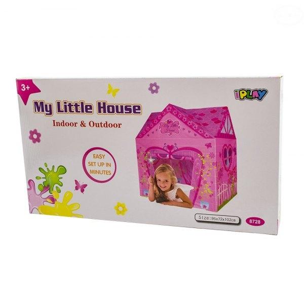 EURO BABY - Dětský stan - domeček pro holčičky