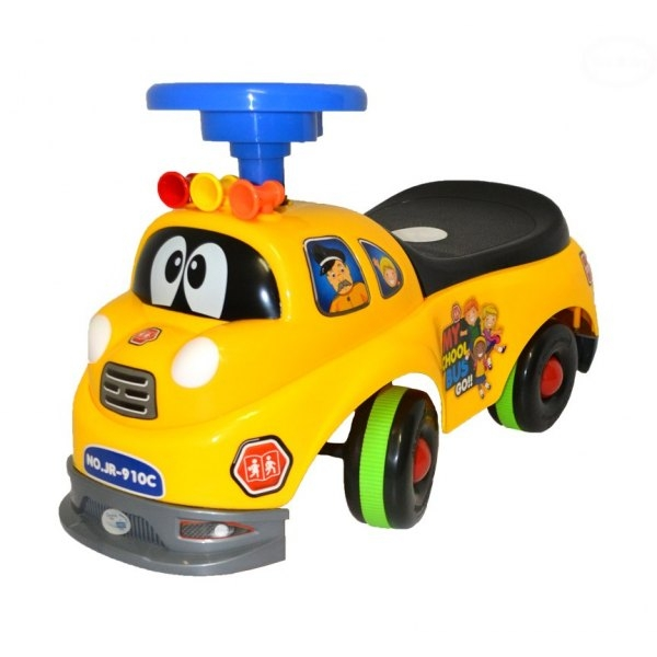 EURO BABY - Odstrkovadlo,odrážedlo, jezdítko - HASIČ - žlutý
