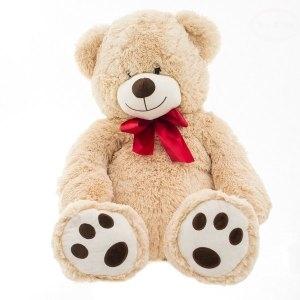 EURO BABY - Plyšový medvídek 60 cm - béžový