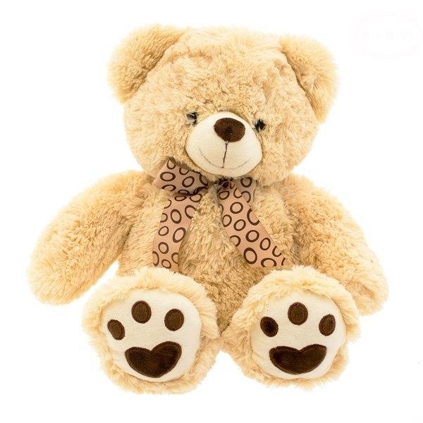 EURO BABY - Plyšový medvídek 65 cm - béžový