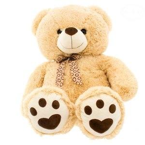 EURO BABY - Plyšový medvídek 75 cm - béžový