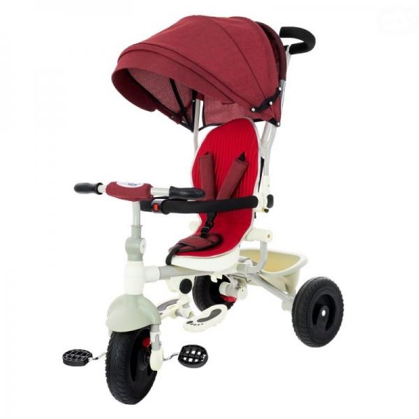 EURO BABY - Dětská tříkolka - červená