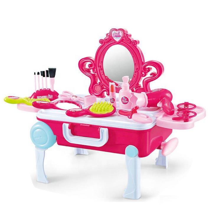 EURO-TRADE - Dětský toaletní stolek v kufříku 2v1