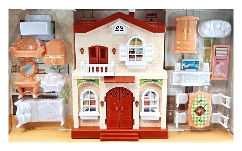 EURO-TRADE - Domeček pro panenky 50x24cm