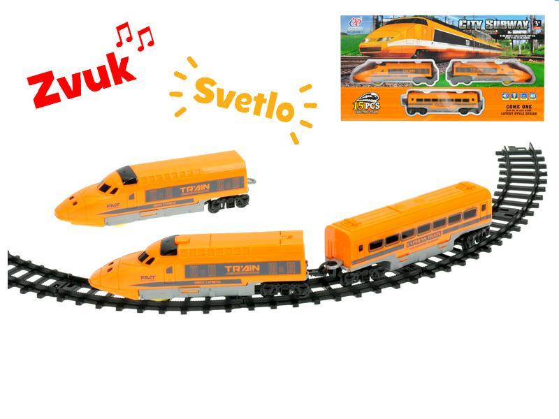 EURO-TRADE - Vlak s vagóny a dráhou