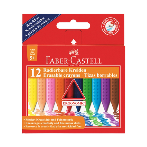 FABER CASTELL - Pastelky Faber-Castell Grip Plastic Colour