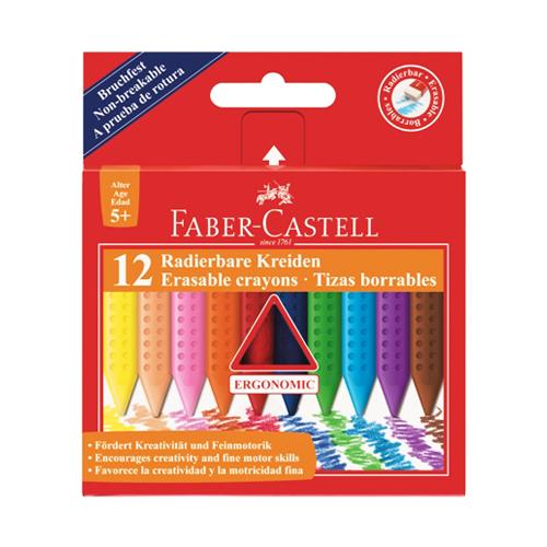 FABER CASTELL - Pastelky Faber-Castell Grip Plastic Colour