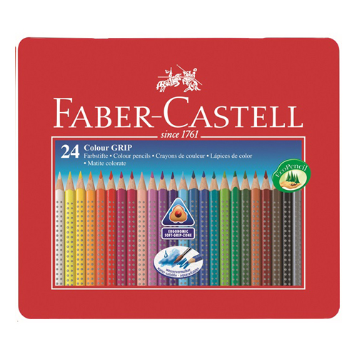 FABER CASTELL - Pastelky Grip 24 far