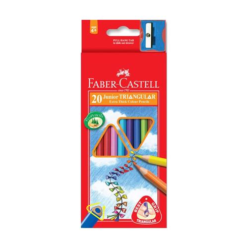 FABER CASTELL - Pastelky Grip 20 barev