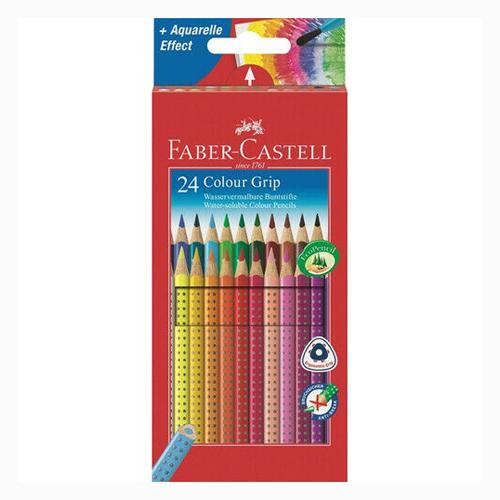 FABER CASTELL - Pastelky Grip 2001 set 24 barev
