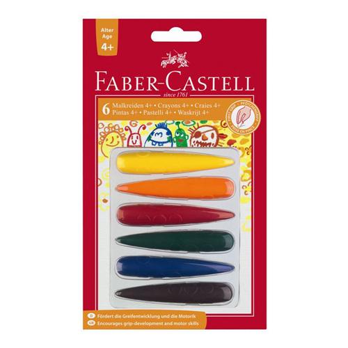 FABER CASTELL - Pastelky plastové do dlaně