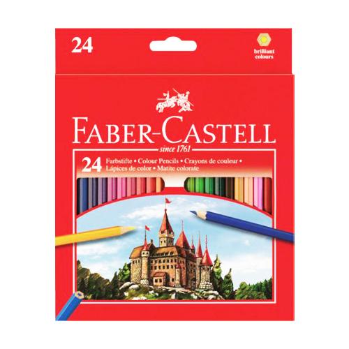 FABER CASTELL - Pastelky set 24 barev