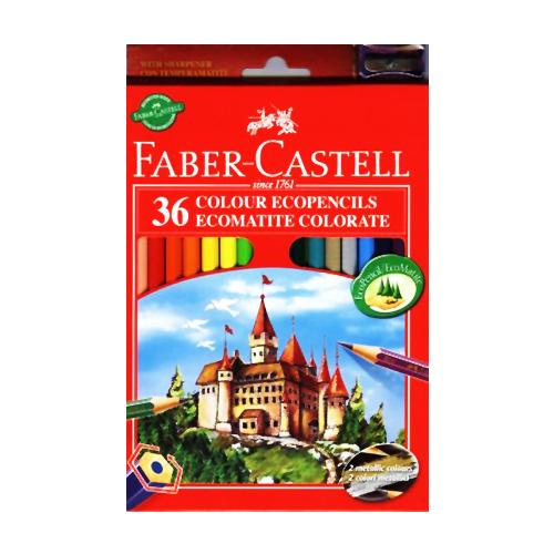 FABER CASTELL - Pastelky set 36 barev