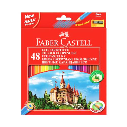 FABER CASTELL - Pastelky set 48 barev
