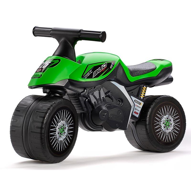 FALK - Odrážedlo 402KX Kawasaki Green baby moto