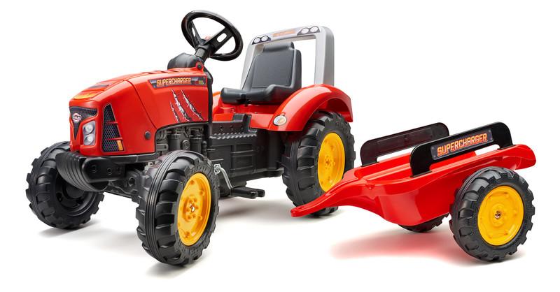 FALK - Šlapací traktor 2020AB Supercharger červený