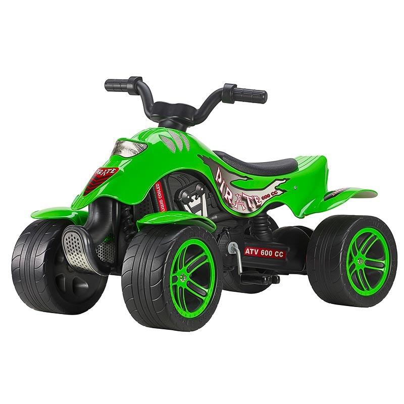 FALK - Čtyřkolka šlapací 609BR Bud Racing zelená