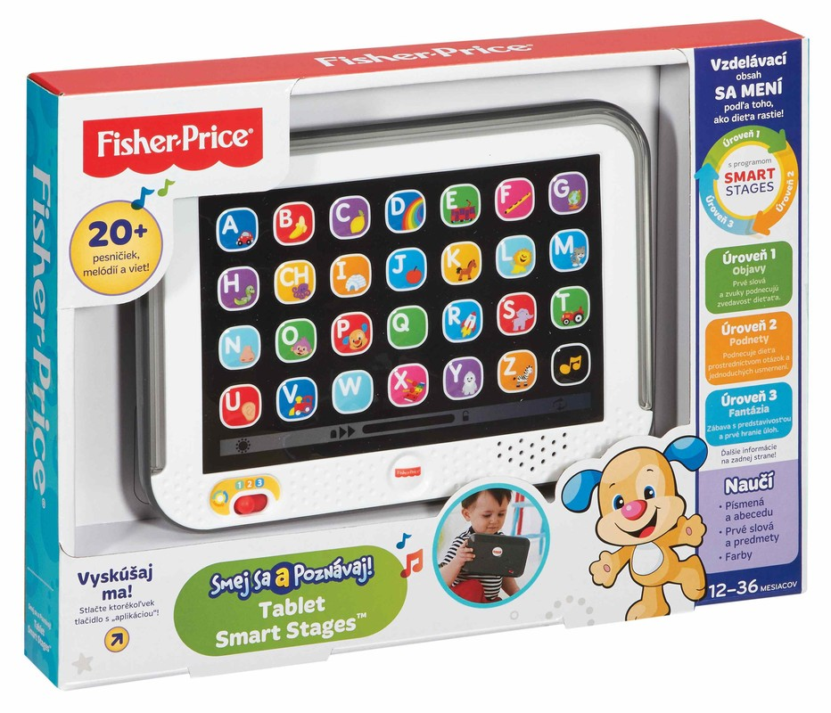 FISHER PRICE - Fisher Price Tablet pro nejmenší