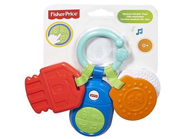 FISHER PRICE - Hudební klíčky DFP52