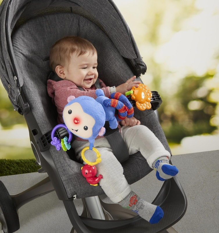 FISHER PRICE - Řetěz na kočárek Rainforest DFP84