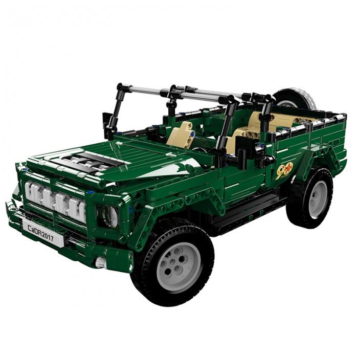 FLEG - Vojenské auto na dálkové ovládání