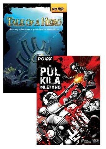 FUTURE GAMES - PC CZ adventure(2v1)-1/2 kila mletyho & Tale of Hero