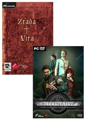 FUTURE GAMES - PC CZ adventure(2v1)- Alternativa & Zrada a vira