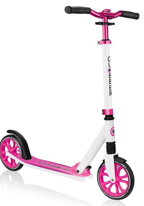 GLOBBER - Dětská koloběžka NL 205 White - Pink