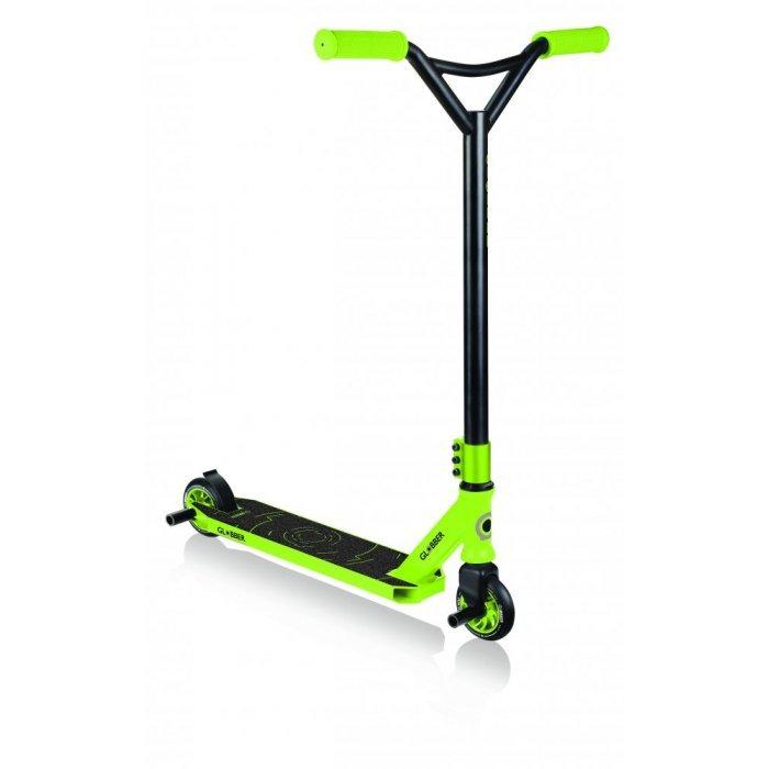 GLOBBER - Freestyle Koloběžka STUNT SCOOTER GS 540 Black / Green