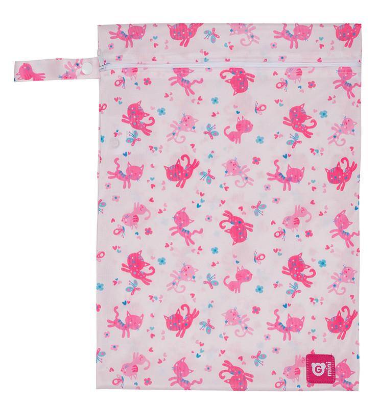 GMINI - Pytlík na pleny růžová kočička UNI 11ace40db1