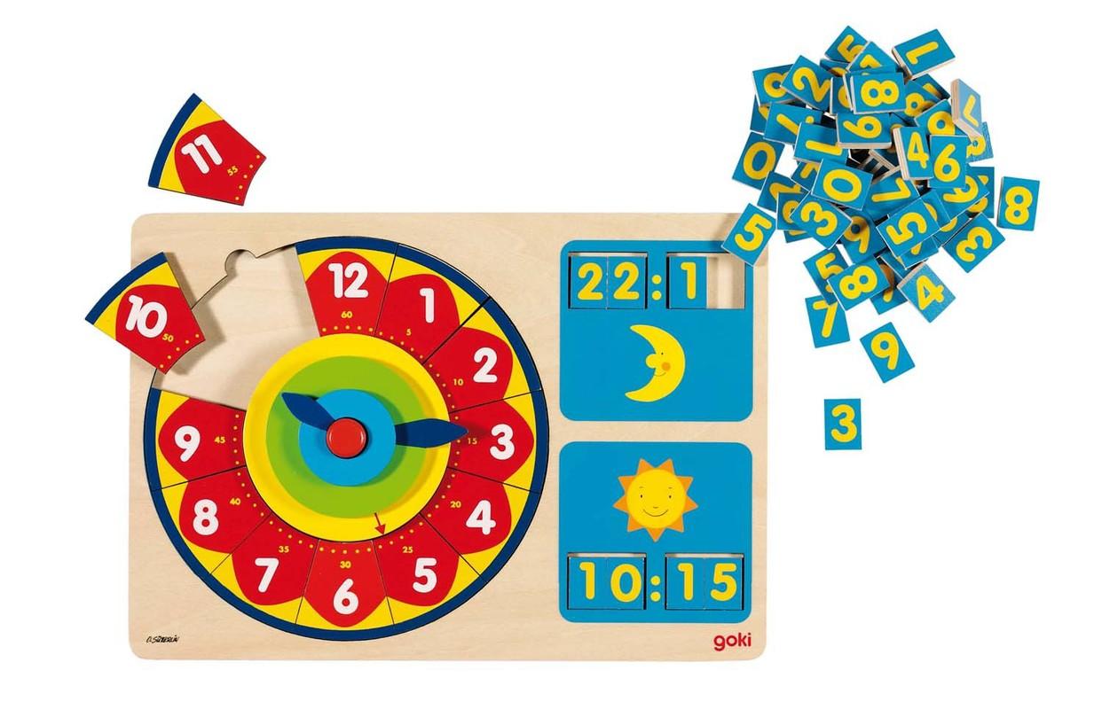 GOKI - Hra Učíme se hodiny