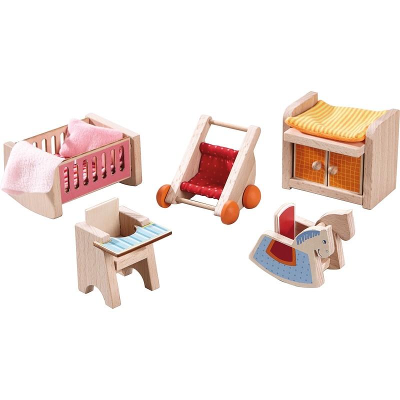 HABA - Little Friends nábytek do domečku Dětský pokoj