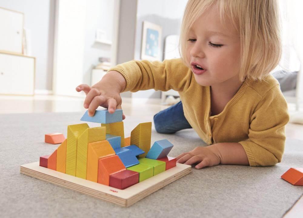 HABA - Puzzle barevné 3D