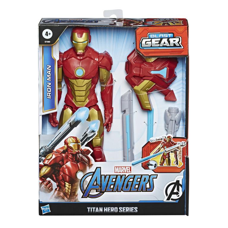 HASBRO - Avengers figurka Iron Man s Power FX přislušenstvím