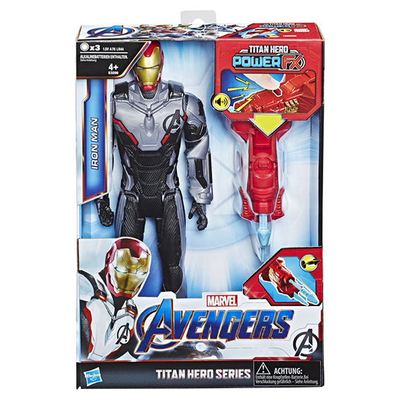 HASBRO - Avengers Titan Hero Power Fx Iron Man 30 Cm Figurka