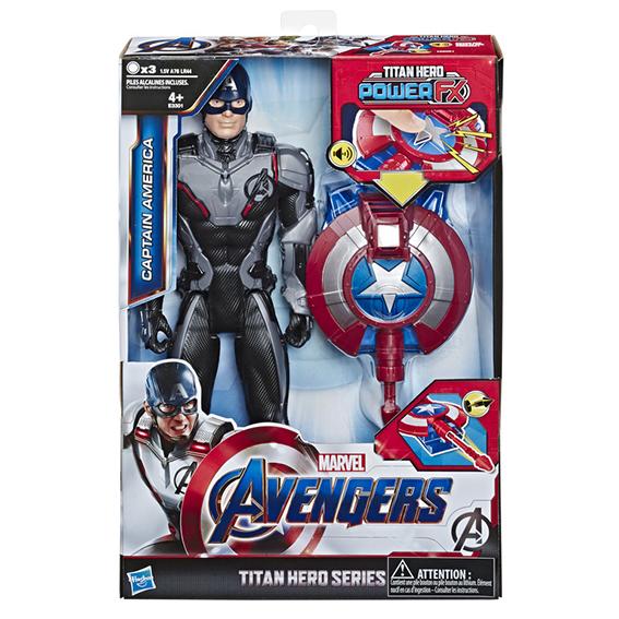 HASBRO - Avengers Titan Hero Power Fx Kapitán Amerika 30 Cm Figurka