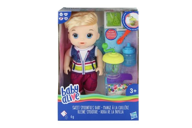 HASBRO - Blonďatý chlapec Baby Alive 35cm