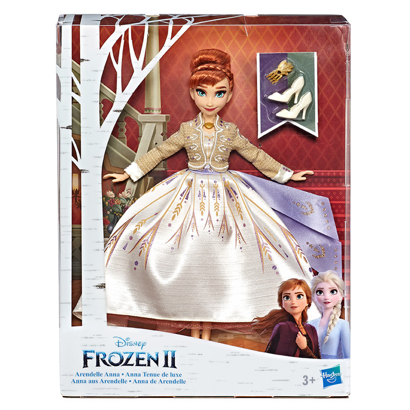 HASBRO - Frozen 2 panenka Anna deluxe HASBRO