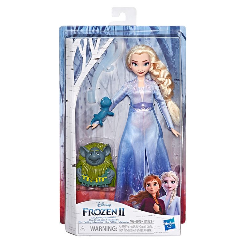 HASBRO - Frozen 2 panenka Elsa s kamarádem