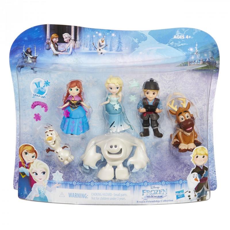 HASBRO - Frozen Mini hrací set 6 postav z filmu