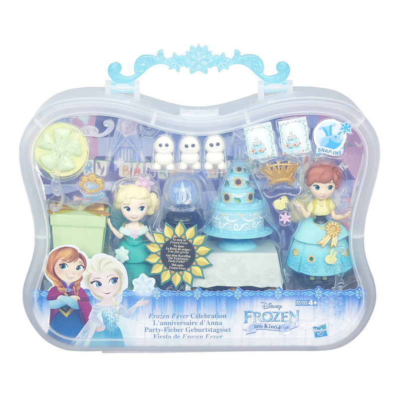 HASBRO - Frozen Small Doll Story Pack Ast