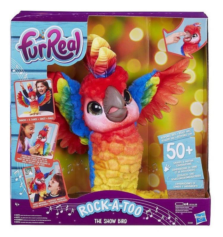HASBRO - Fur Real Friends Mluvící Papoušek