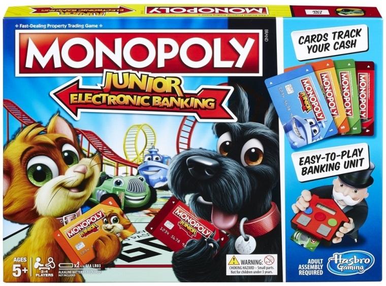 HASBRO - Hasbro Monopoly Junior: Elektronické bankovnictví